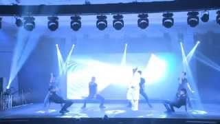 Tamil Remix Songs On Stage Dance SANDY with BOYS