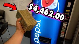 PULLING CASH FROM MY SODA MACHINE!!