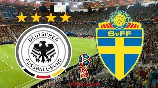World Cup 2018 - Germany Vs Sweden - 23/06/18 - FIFA 18