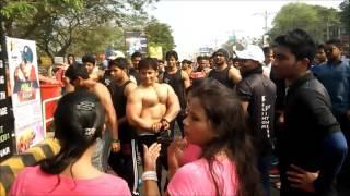 Kalinga Fitness Show Body Building at Raahgiriday Bhubaneswar on Janpath