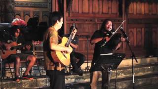 """""""Bengawan Solo"""" (Gesang) - by Jubing  (guitar,) Ages (violin) & Batavia Mood Ensemble"""