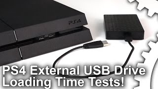 PS4 External Storage Loading Time Tests - Upgrade Options Compared!