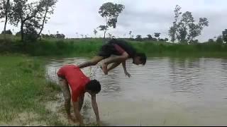 Bath in magis bangla camp 2015