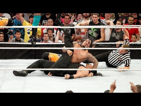 Xxx Mp4 Roman Pinned For The First Time In WWE 11 On 3 Handicap Match Raw Sept 23 2013 3gp Sex