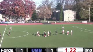 UMassBoston Mens Soccer NCAA Tournament Dirty Plays