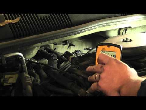 How to test a crank sensor with a voltmeter