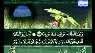 القرآن الكريم - الجزء الخامس عشر - تلاوة سعد الغامدي - 15