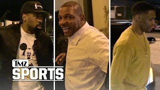 DEANDRE JORDAN HITS DINNER JACKPOT After Clippers Victory | TMZ Sports