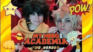 My Hero Academia Boku No Hero Academia Cosplay - Deku and Bakugo Watch BNHA Two Heroes Deku Vlogs #1