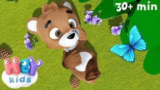 Little Teddy Brown Bear - HeyKids - Bear song for kids