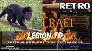MAXIMUM TRYHARD LEGION TD! EN VIVO! #JaidefinichonLIVE en Español - GOTH