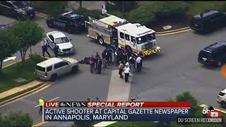 Current Event - Shooting at capital mayland news paper