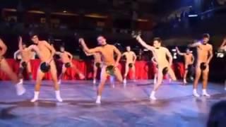Naked Japanese Fan Dance