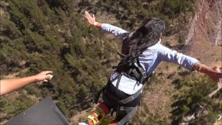 BUNGEE JUMPING ACTION VALLEY CUSCO 2016