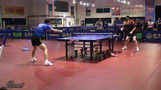 ►►Ma Long & Zhang Jike: long training session together (+an amazing game @Jan'16) [HD]