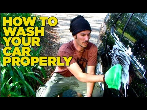 How to Wash Your Car Properly