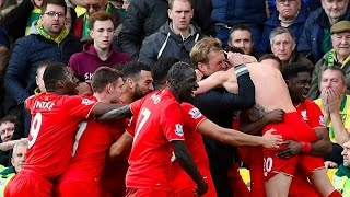 CRAZY Norwich City vs FC Liverpool 4 - 5 All Goals 23 01 2016 HD