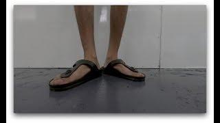 Modelling + Unboxing BIRKENSTOCK Gizeh Eva Khaki 0128271 - No dirtiness?