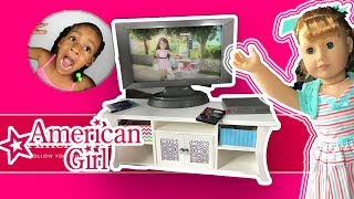 AG Design A Friend Dolls Surprise Slumber Party ! American Girl Doll Sleepover Haul