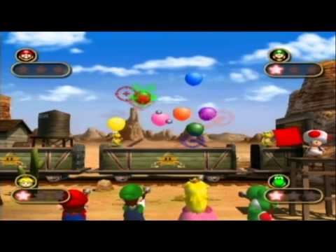 GCN Nostalgia Mario Party 4 All 4 player Mini games