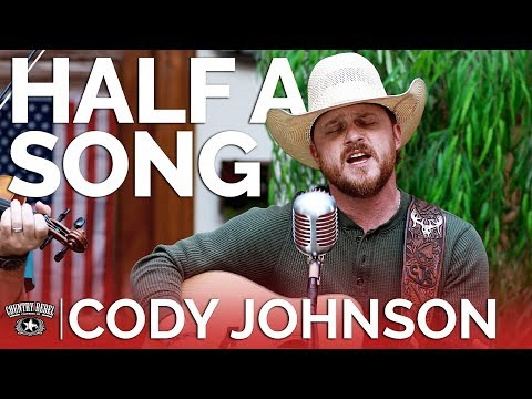 Cody Johnson - Half A Song (Acoustic)  Country Rebel HQ Session