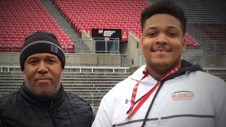University of Maryland officials meet with parents after football player