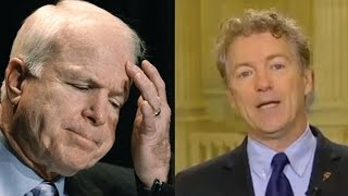 BREAKING: IF RAND PAUL IS RIGHT, JOHN MCCAIN COULD BE GOING TO JAIL VERY SOON!