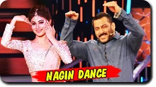 Salman Khan & Mouni Roy's NAAGIN DANCE On Bigg Boss 9