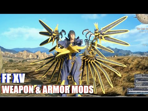 Xxx Mp4 Final Fantasy XV Top 10 Armor Weapon Mods July 2018 Sparda Sould Edge Steam 3gp Sex