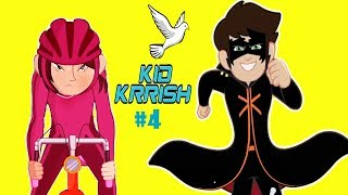 Kid Krrish Movie Cartoon | Cartoon Movies For Kids | Cycle Race For Kids | Part #4