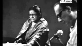 Kathay o Sure:  Pratima Bandopadhyay with Hemanta Mukhopadhyay - কথায় ও সুরেঃ প্রতিমা বন্দ্যোপাধ্যায়
