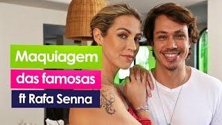 DICAS DE AUTOMAQUIAGEM ft. RAFA SENNA | Luana Piovani