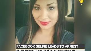 Facebook selfie leads to arrest