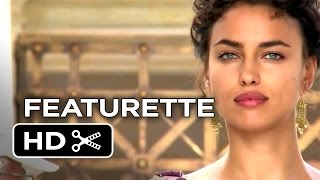 Hercules Featurette - Hercules & Megara (2014) - Dwayne Johnson, Irina Shayk Mythology Movie HD