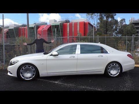 The 200 000 Mercedes Maybach S600 Is an Insane Luxury Sedan