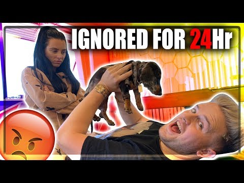 IGNORED MY GIRLFRIEND FOR 24 HOURS