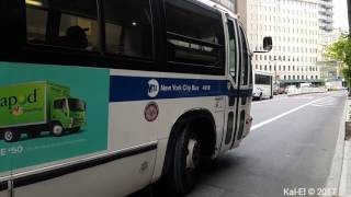NYCTA: 1999 Novabus T80206 RTS #4918 on a Crown Heights bound B45