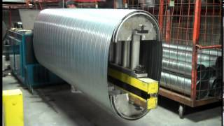 Flat Oval Spiral Duct