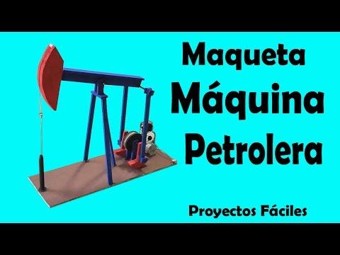 Cómo Hacer una Máquina Petrolera muy fácil de hacer