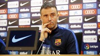 Luis Enrique's press conference (18/01/17)