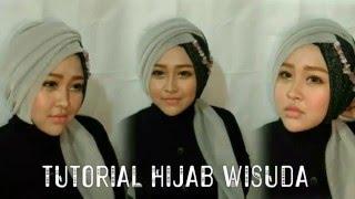 Tutorial Hijab Wisuda #1 | Gurit Mustika
