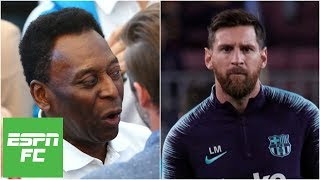 Reacting to Pele's 'one-skill' comments about Lionel Messi   Extra Time