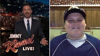 Jimmy Kimmel Interviews Big Al