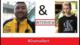 Vidcon Security Guard & Christian Burns TOGETHER #DramaAlert INTERVIEW!!!!