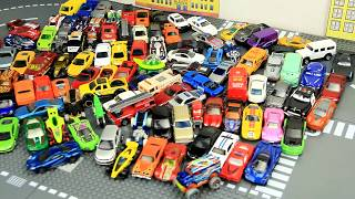 100+ cars toys BIG COLLECTION SMALL CARS for kids