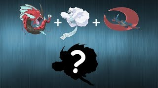 Pokemon Fusion Requests #144: Mega Shiny Gyarados + Mega Altaria + Mega Salamence.