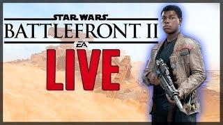 New DLC: Maxing out Finn! | STAR WARS battlefront 2 Livestream