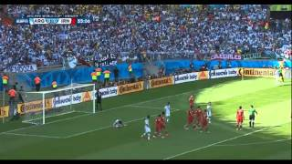 Argentina vs. Iran World Cup 2014 - The Lost Penalty