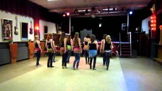 Hadise - Sweat (Bellydance dancetest MSDV Let's Dance 09-05-2012)