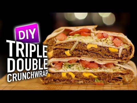 DIY Triple Double Crunchwrap Supreme